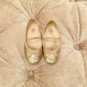 Baby Gap Glitter Dress Shoes